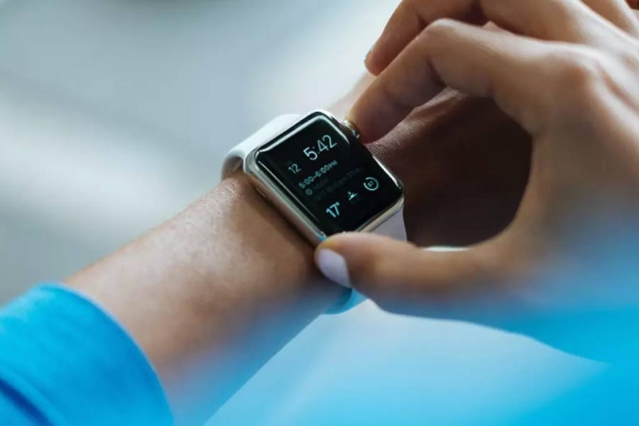 Wearables can measure behaviour, language, facial expressions and voice tonality, recording fluctuations in a person's wellbeing. Photo: Luke Chesser on Unsplash