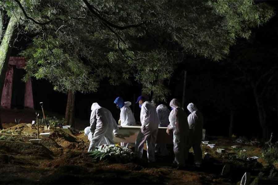 Global coronavirus cases cross grim mark of 150 million