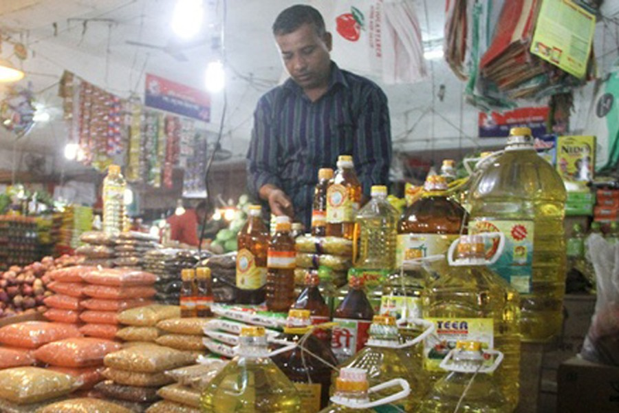 Bottled cooking oil price fixed at Tk 141 per litre