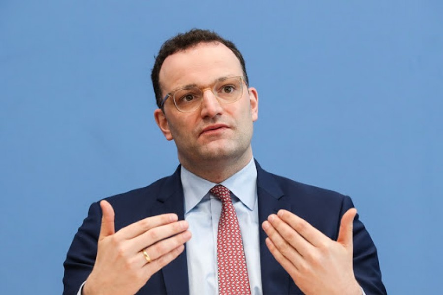 Third wave of pandemic 'appears to be broken, German health minister says