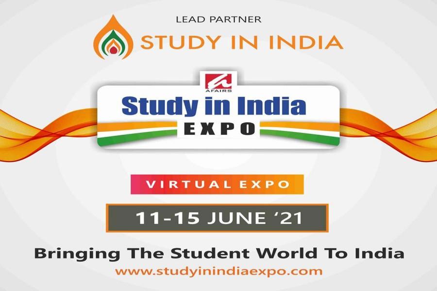 Study in India Virtual Expo begins tomorrow