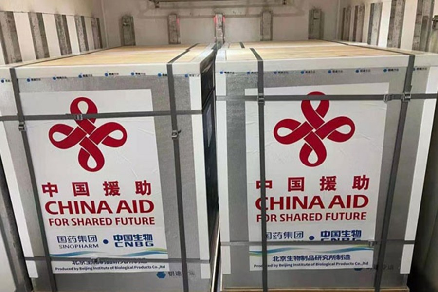 600,000 Chinese vaccine doses to arrive in Dhaka Sunday