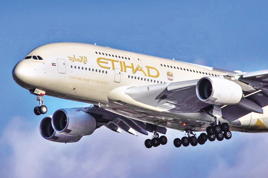 Etihad Airways ordered to pay Tk 20m for harassing two women