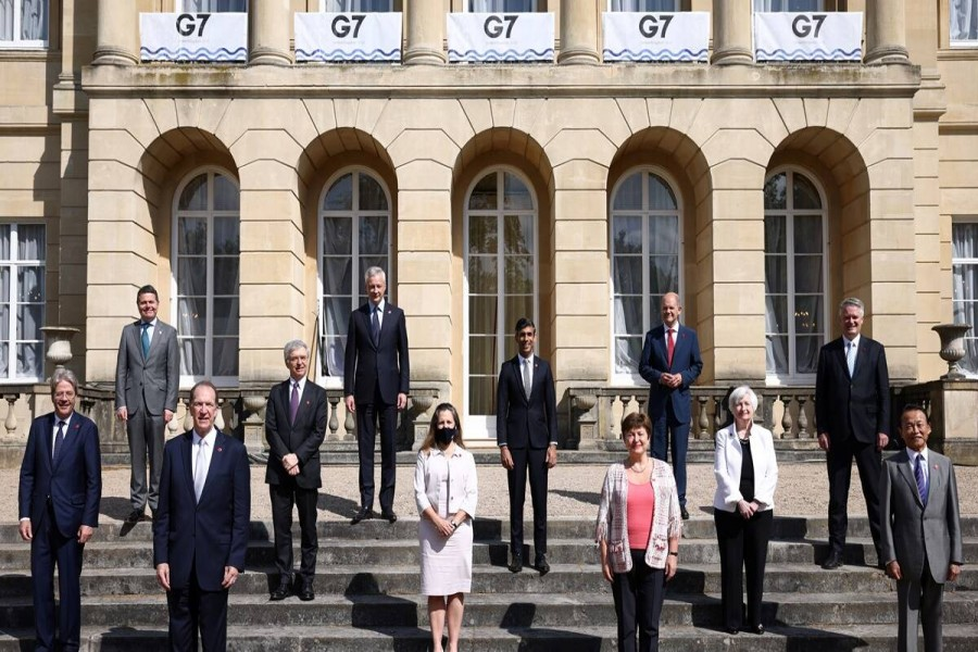 G7 nations should be equal to their promise