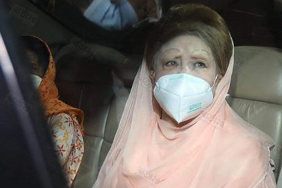 File photo of Khaleda Zia. (Collected)