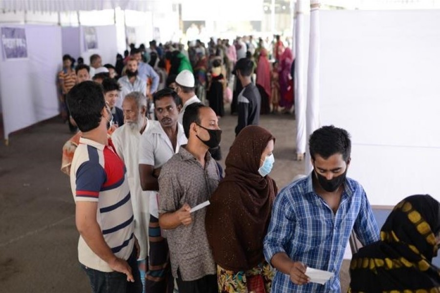 Bangladesh reports 4,846 new COVID cases, 76 deaths in a day