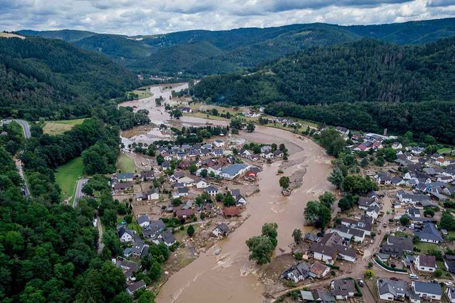 Hundreds considered missing in Europe floods are safe