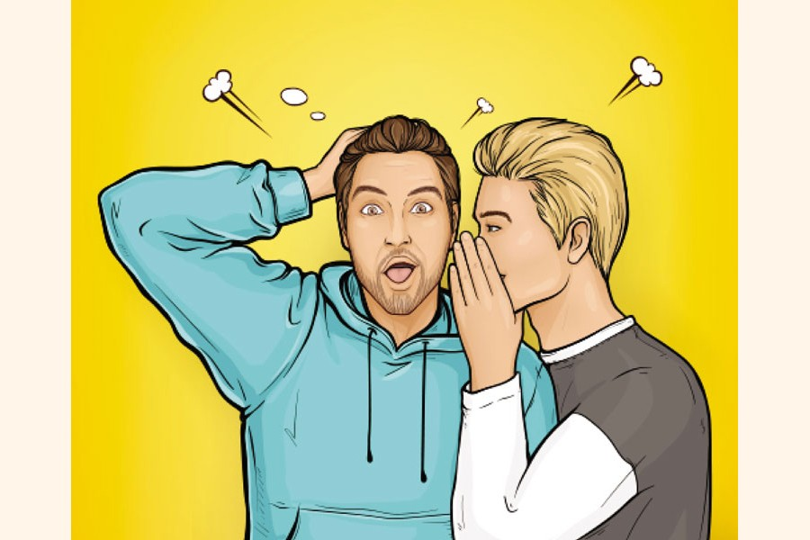 Professional jealousy and backbiting