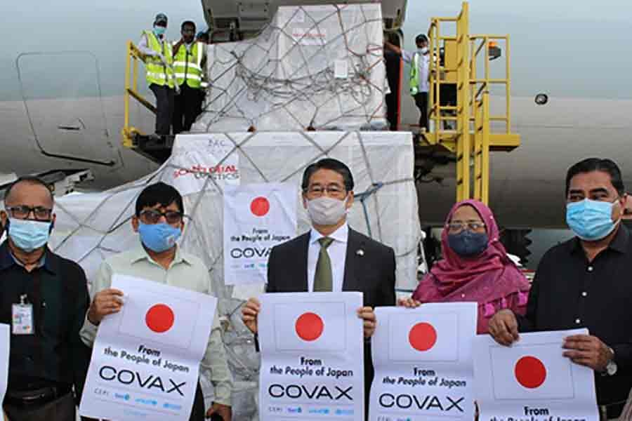 Bangladesh may get another 1.4m vaccine doses from Japan this month
