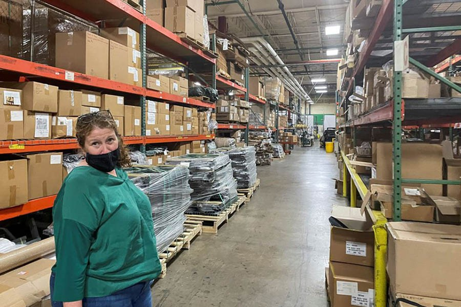From zippers to glass -- Shortages of basic goods hobble US economy