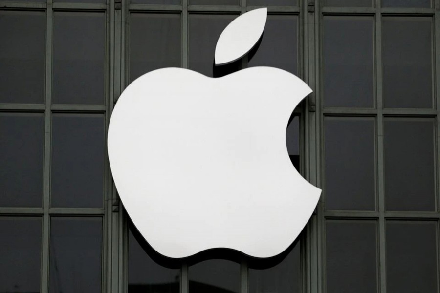 The Apple Inc logo is shown outside the company's 2016 Worldwide Developers Conference in San Francisco, California, US on June 13, 2016 — Reuters/Files