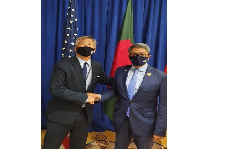Bangladesh seeks US investment, urgent steps for Rohingya repatriation