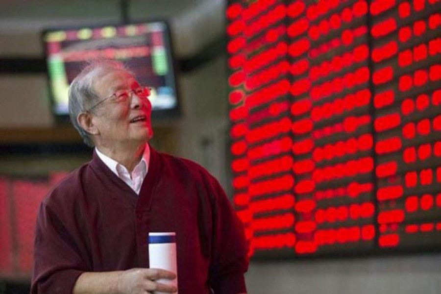 Asian shares mixed ahead of corporate earnings reports