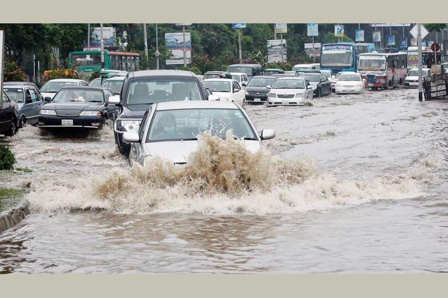 Rain, poor roads and mute sufferings