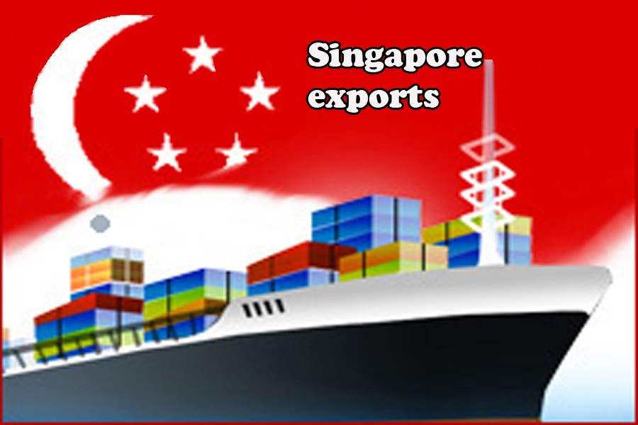 S pore exports increase 17pc in Aug