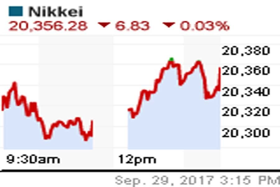 Nikkei clinches best monthly gains this yr