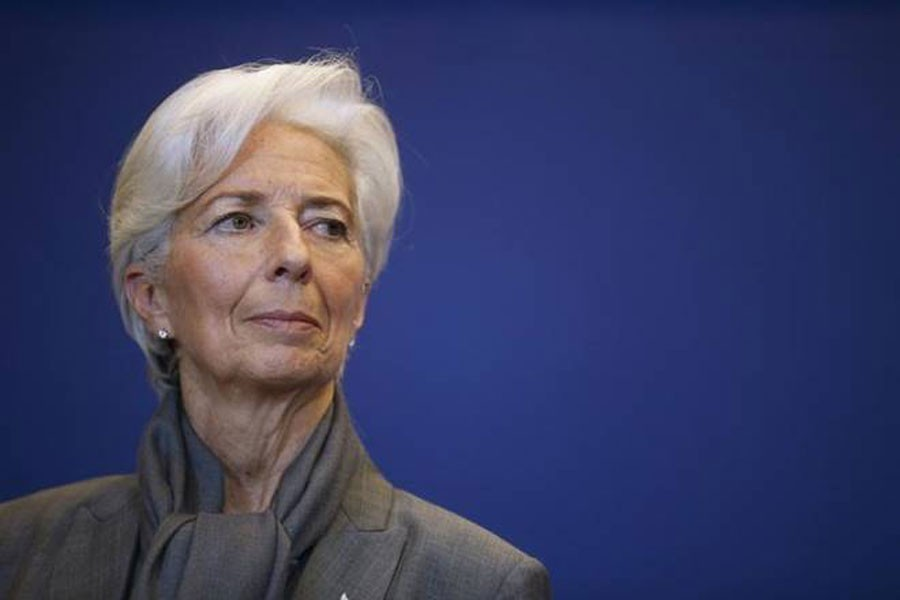 IMF Managing Director Christine Lagarde.  - Reuters photo