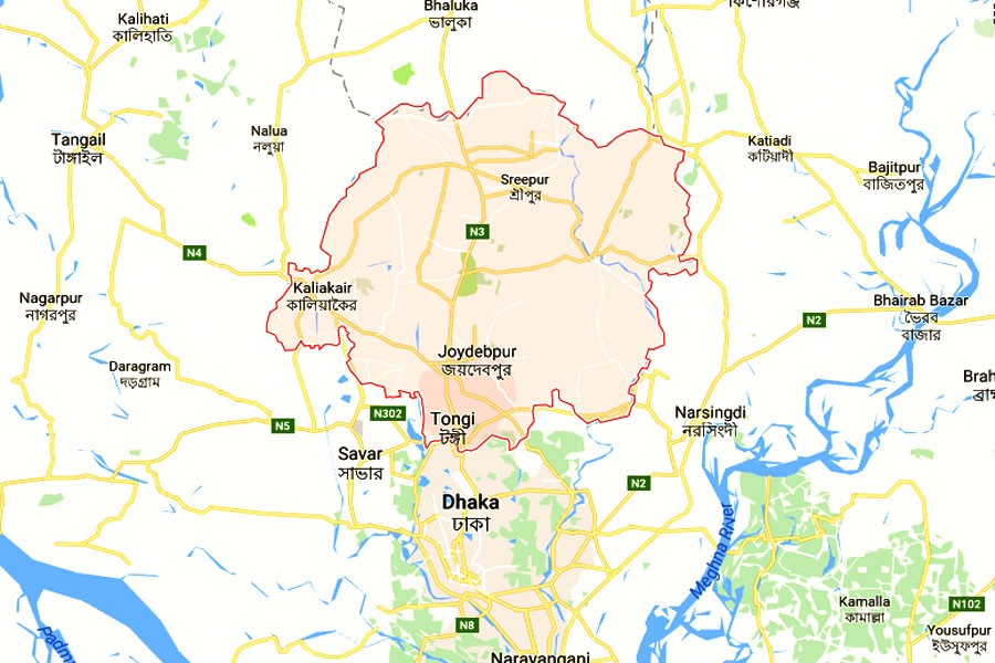 Two workers injured in Gazipur RMG factory fire