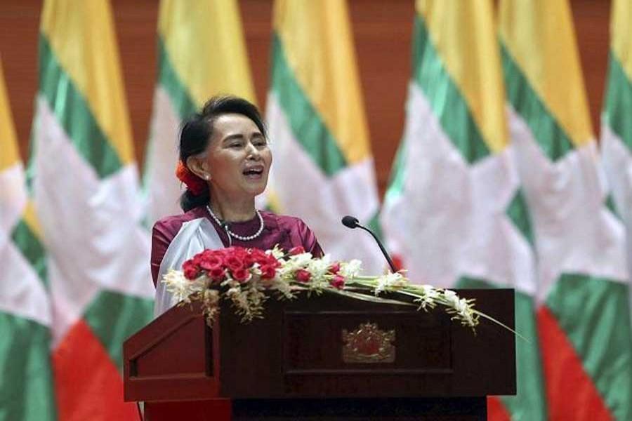 Suu Kyi for 'all inclusiveness' in reconciliation