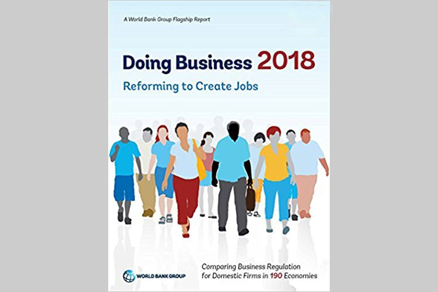 BD 177th in ease of doing business ranking