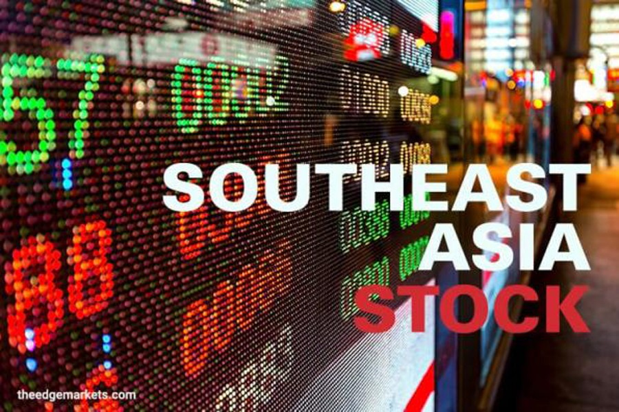 Southeast Asian stocks edge up