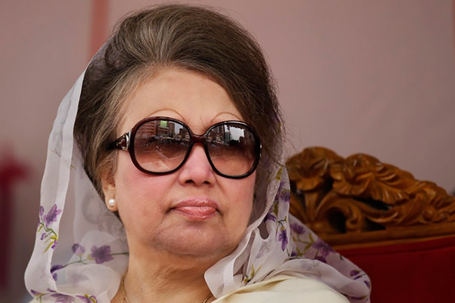 BNP Chairperson Khaleda Zia. - AP file photo