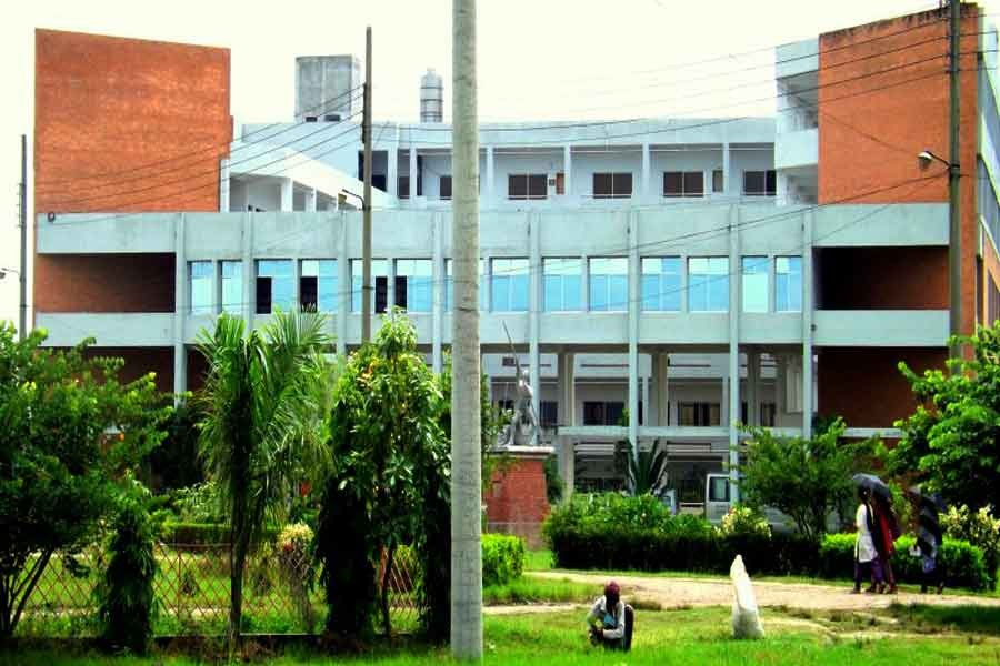 Photo collected from internet showing the Academic Building of Jessore University of Science and Technology (JUST)