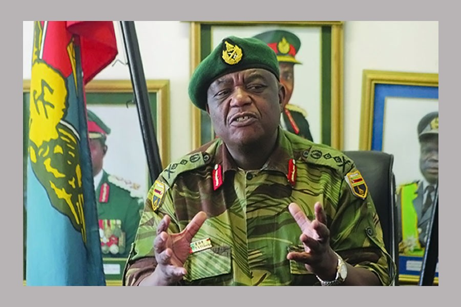 General Constantino Chiwenga (Photo collected)