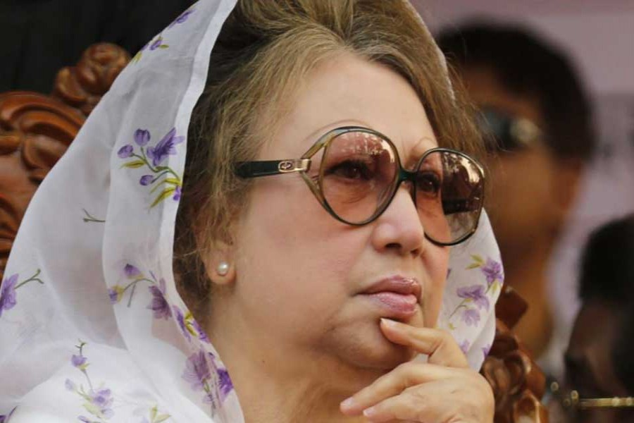 Khaleda to meet with 20-party leaders Wednesday