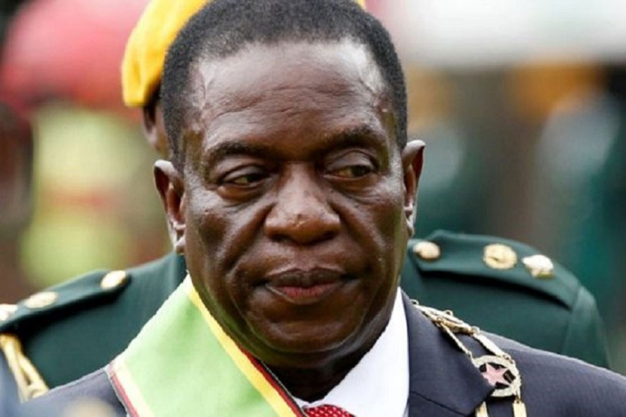 Emmerson Mnangagwa has selected military figures for his cabinet. Reuters