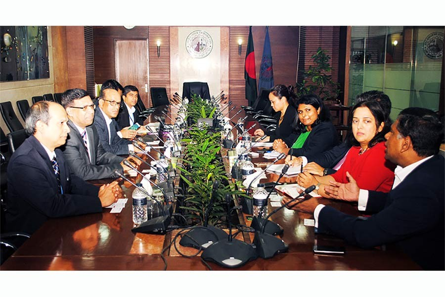 WB, IFC mission holds meeting with DSE