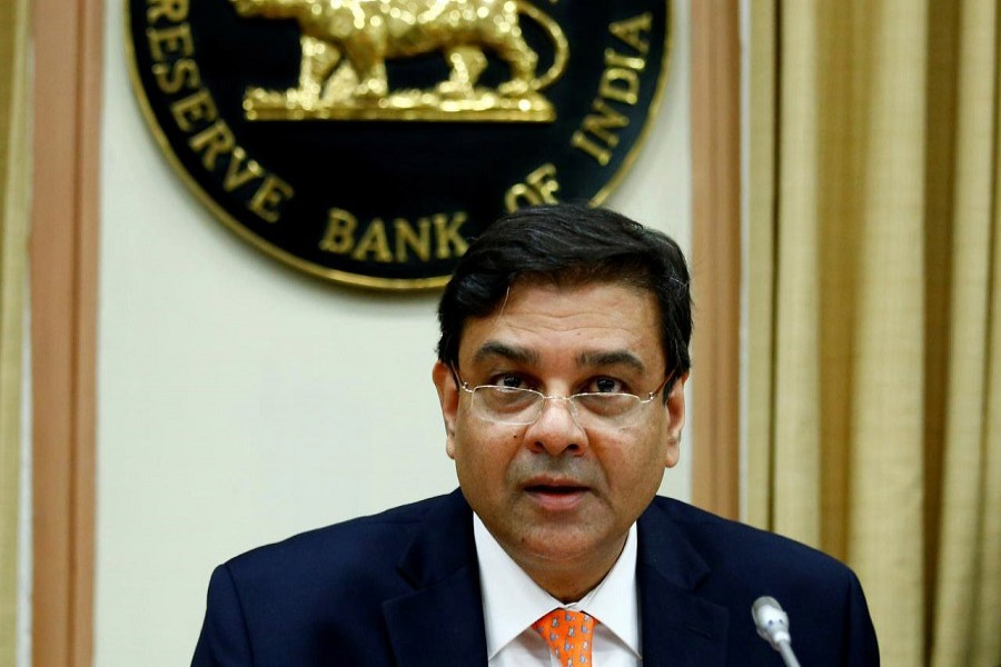 The Reserve Bank of India (RBI) Governor Urjit Patel attends a news conference after the bi-monthly monetary policy review in Mumbai, December 6, 2017. Reuters