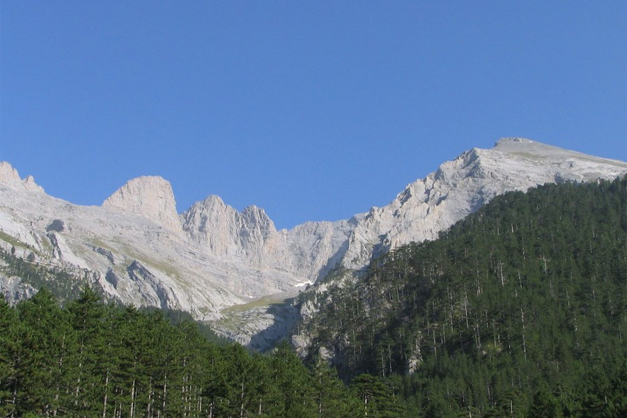 Mount Olympus (Photo- Wikipedia)