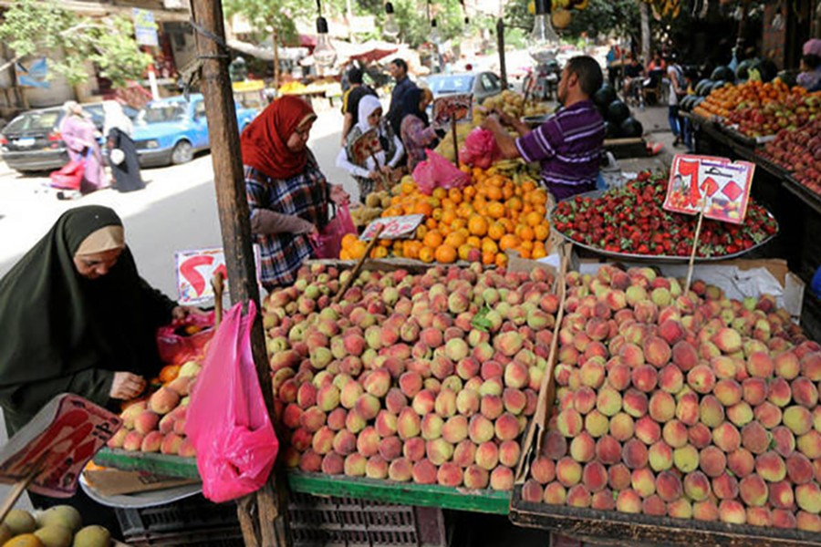 Egypt's annual urban consumer price inflation falls in Nov