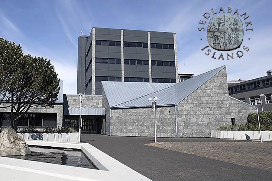 Central Bank of Iceland (File Photo)
