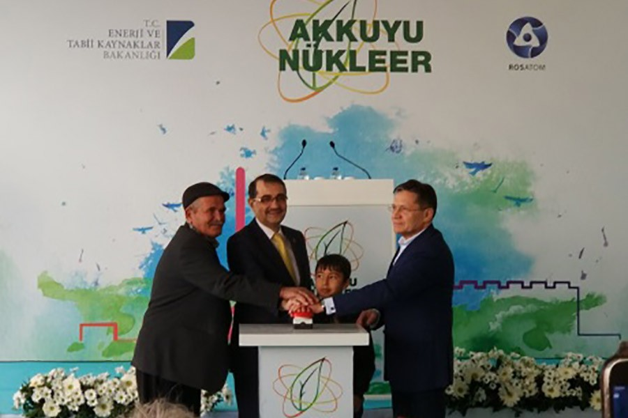 Turkey launches construction of first nuclear plant