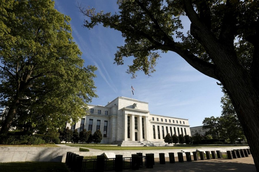 The Federal Reserve headquarters in Washington September 16 2015. Reuters/File Photo