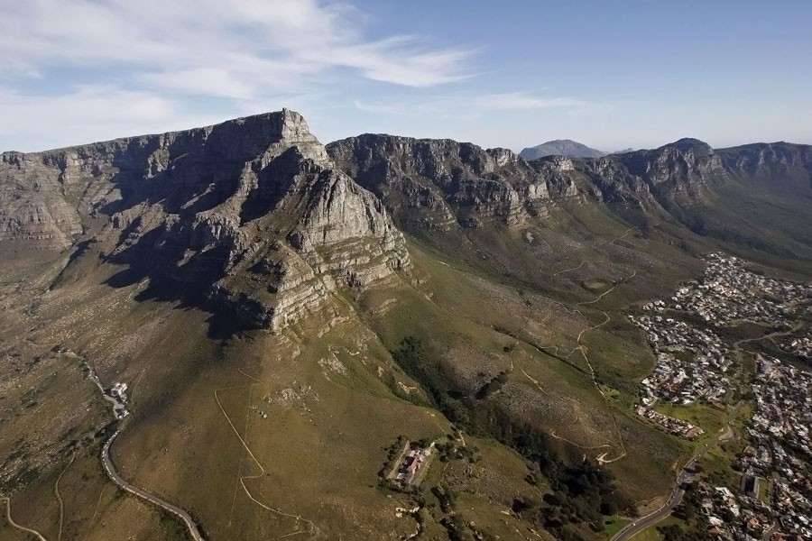An Asian climber and a South African guide died after falling from a cliff on Table Mountain in South Africa. Their bodies were recovered early Tuesday. (AP)