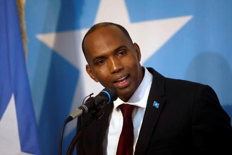 Somalia's Prime Minister Hassan Ali Khaire addresses the Parliament in Mogadishu March 1, 2017. - Reuters file photo
