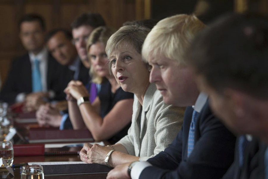 Theresa May holds a cabinet meeting at the Prime Minister's country retreat Chequers in Buckinghamshire, Britain August 31, 2016. - Reuters file photo used only for representation.