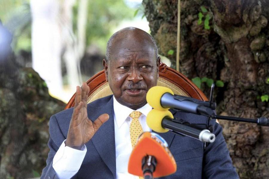 Ugandan President Yoweri Museveni (Internet Photo)