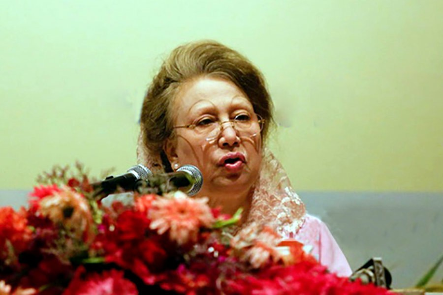 Khaleda wants strong movement against 'neo-Baksal'