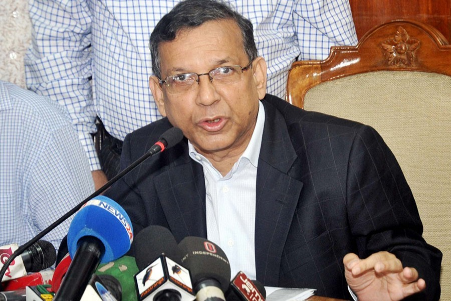 Law minister contests Khaleda's judiciary comment, terms it 'untrue'