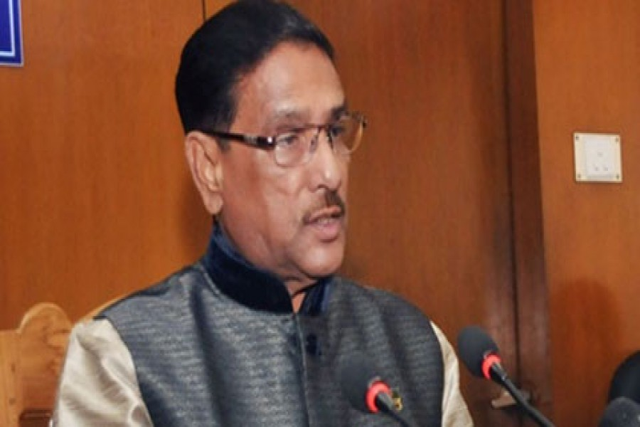 Quader terms Khaleda verdict warning for corrupt politicians