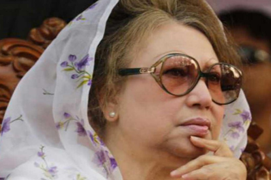 Khaleda's lawyers yet to get certified copy of verdict
