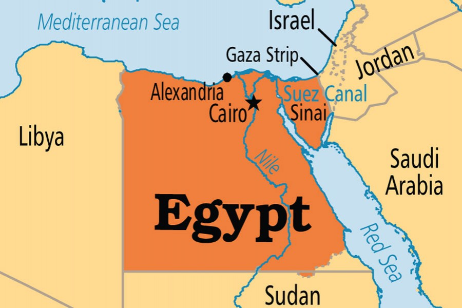 Egypt sentences 21 to death on terrorism charges