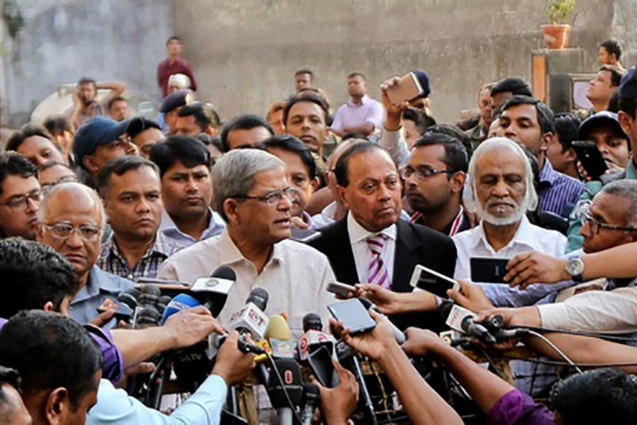 Khaleda facing adverse situation with courage: Fakhrul