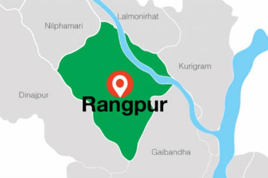 Two die in Rangpur road mishap