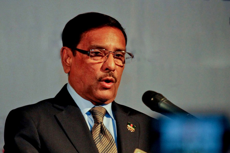 People not responding to BNP's call: Obaidul Quader