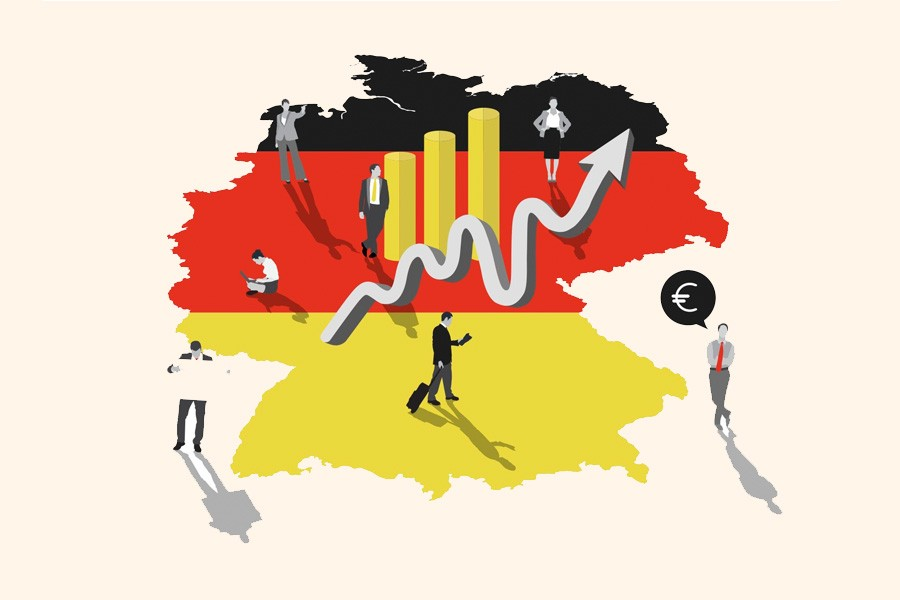 Germany eyes 2.3pc GDP growth in 2018